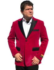 Nardoni Brand Mens Hot Pink ~ Fuchsia Mens blazer Jacket ~ Sport coat
