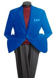 Rayon Unique Fashion Designer Mens blazers Royal Blue