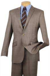 Single Breasted 2 Button Slim Fit affordable suit online sale Tan