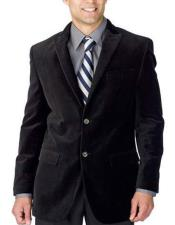 2 Buttons Single Breasted Velvet Midnight Suit