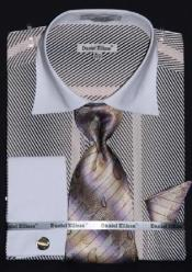 Tone Stripes Design Dress