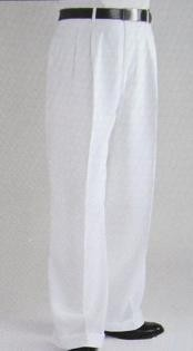 Wide Leg Dress Pants Pleated baggy dress trousers unhemmed unfinished bottom