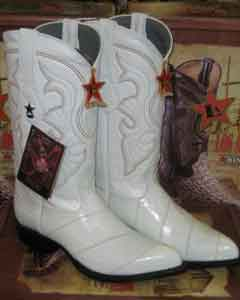 White Genuine Eel Western