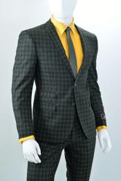 men's suits with ticket pocket