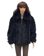 Mink Front Paws Jacket