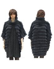 Fur Grey Fully Insulated Genuine Rabbit