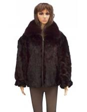 Up Zipper Mink With