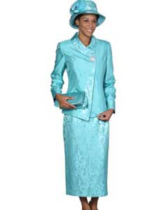 Dress Set turquoise ~ Light Blue Stage Party