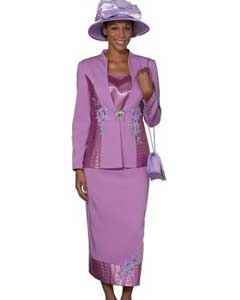 3 Piece Dress Set Violet