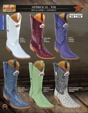 Altos 3X Toe Genuine Ostrich Mens Western Cowboy Boots Diff Colors/Sizes