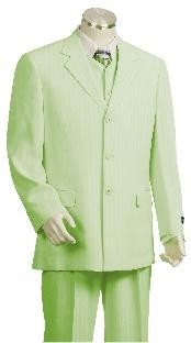 Mens Seage Pinstripe Gangester