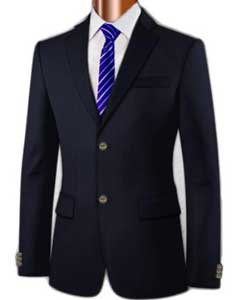 100% Super Wool Blazer