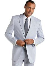 Seersucker Suit Blue Seersucker