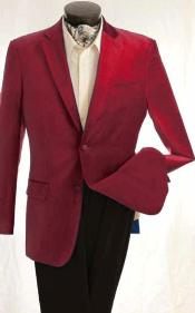 Red mens jacket