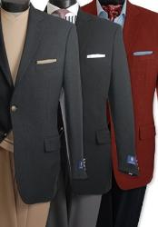 2 Button Elegant Boucle
