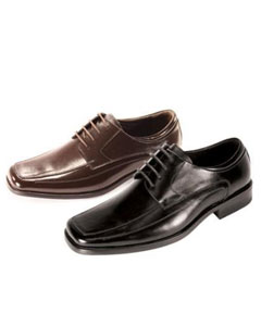 Oxford Black Shoes $74