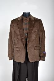 Corduroy Sport Coat- Brown