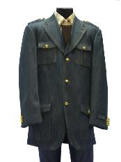 Military Style Denim three