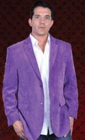 purple sport coat