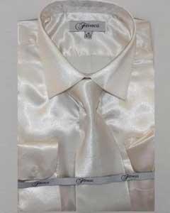 Shiny Luxurious Shirt Off