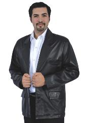 Genuine Lamb Skin Blazer