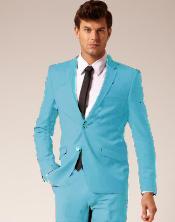 2 Button Wool & Cotton Suit