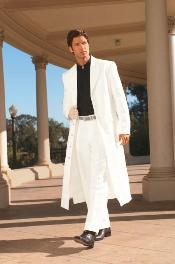Very Long Fashion White