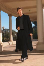 Very Long Fashion Black