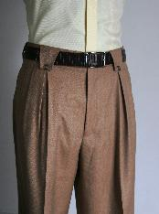 Wide Leg Rust Pants