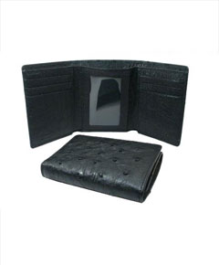 Wallet - Black Trifold