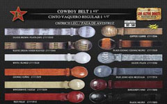 Leg Mens Cowboy Belt
