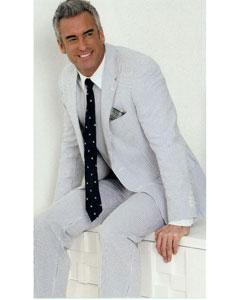 Cotton Classic Seersucker Suit