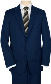 High-Quality 2 Button Navy