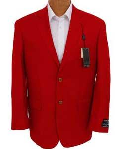 Solid Red Sport Coat
