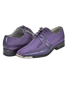 Purple Mens Dress Shoes