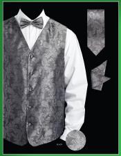 4 Piece Vest Set