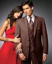 brown tuxedo