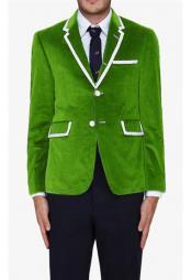 green blazer mens