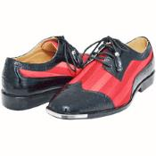 Red Mens Dress Shoes