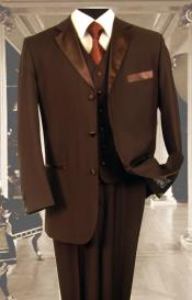 3PC Brown Tuxedo 3