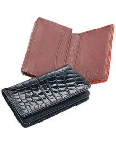 Genuine Crocodile Card Holder