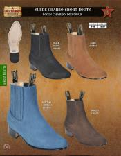 Altos Mens Suede Charro