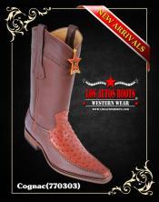 Mens Ostrich Cowboy Boot