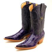Purple Eelskin Boot