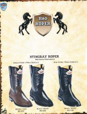West Roper-Toe Genuine Stingray