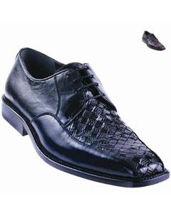 Teju Oxford Shoe Black