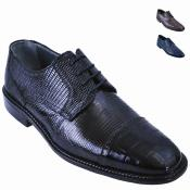 Lizard w/Alligator Tip Shoe
