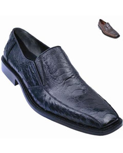 Smooth Ostrich Slip On