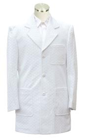 Casual Leisure Suit White
