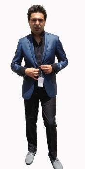 Stylish Sportcoat/ Blazer Cobalt